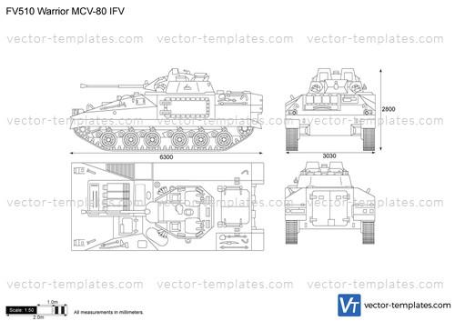 FV510 Warrior MCV-80 IFV
