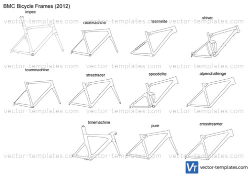 templates - miscellaneous - bicycles