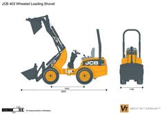JCB 403 Wheeled Loading Shovel