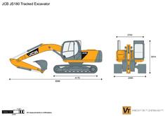 JCB JS180 Tracked Excavator