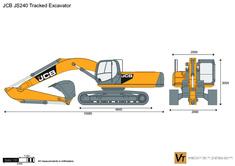JCB JS240 Tracked Excavator