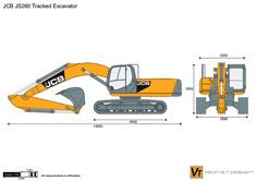 JCB JS260 Tracked Excavator