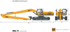JCB JS360LR Tracked Excavator