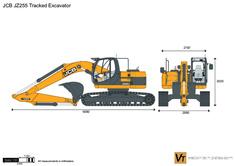 JCB JZ255 Tracked Excavator