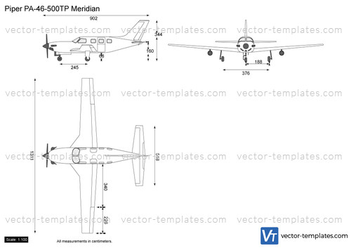 Piper PA-46-500TP Meridian