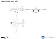 Vickers 618 Nene Viking