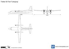 Fokker 50 Twin Turboprop