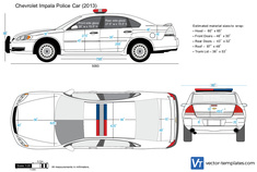 Chevrolet Impala Police Car