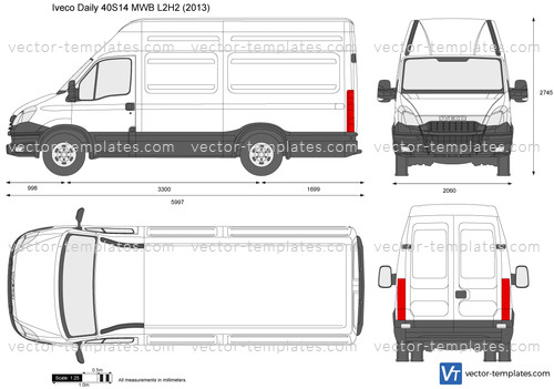 Iveco Daily 40S14 MWB L2H2