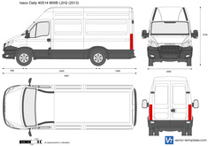 Iveco Daily 40S14 MWB L2H2
