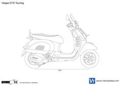Vespa GTS Touring