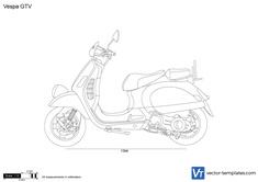 Vespa GTV