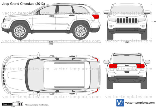 Templates Cars Jeep Jeep Grand Cherokee