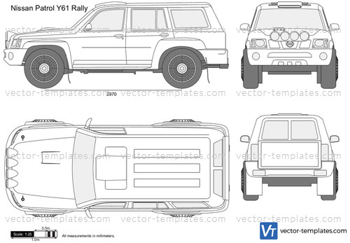 Templates - Cars - Nissan - Nissan Patrol Y61 Rally