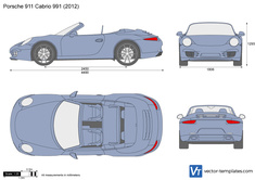 Porsche 911 Cabrio 991