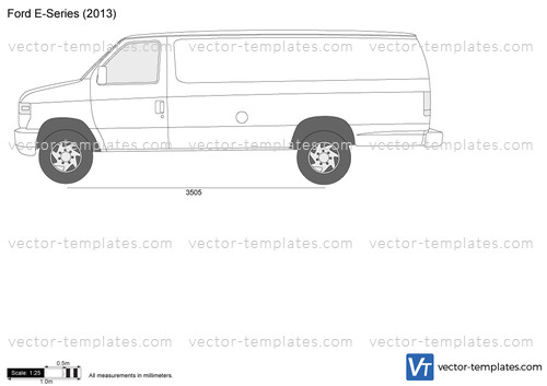 fc7a3d2607f9ec Templates - Cars - Ford - Ford E-Series E-350 Super Duty Extended ...