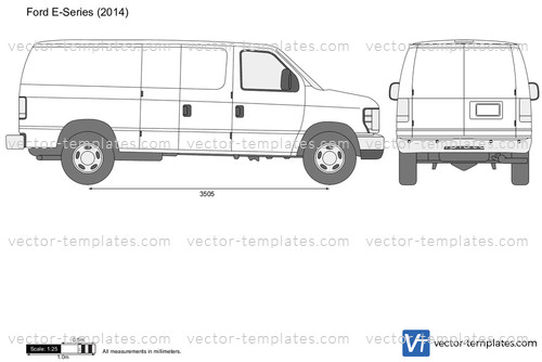 Templates Cars Ford Ford E Series E 150 Regular