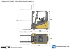 Caterpillar 2ET4000 Three-wheel electric lift truck