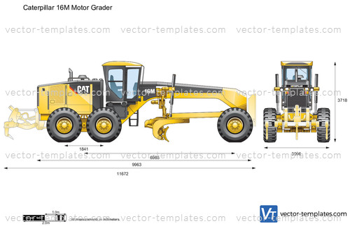 Templates Construction Equipment Caterpillar