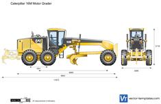 Caterpillar 16M Motor Grader