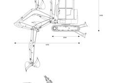 Caterpillar 302.7D Mini Hydraulic Excavator