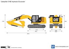 Caterpillar 316E Hydraulic Excavator