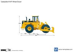 Caterpillar 814F Wheel Dozer