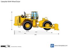 Caterpillar 834H Wheel Dozer
