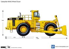 Caterpillar 854G Wheel Dozer