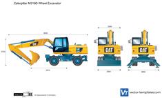 Caterpillar M316D Wheel Excavator