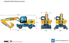 Caterpillar M315D Wheel Excavator