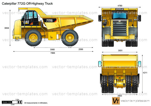 Caterpillar 772G Off-Highway Truck