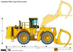 Caterpillar 990H Large Wheel Loader