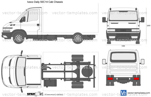 templates cars iveco iveco daily 50c14 cab chassis. Black Bedroom Furniture Sets. Home Design Ideas