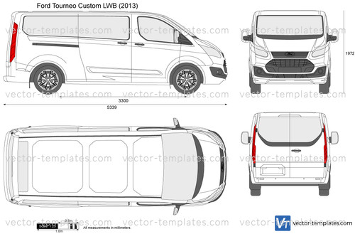 Templates Cars Ford Ford Tourneo Custom Lwb