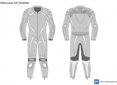 Motorcycle Suit Template