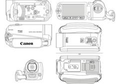 Canon FS20 FS21 FS22 FS200