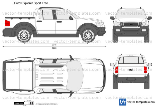 templates cars ford ford explorer sport trac