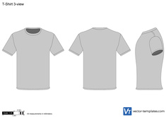 T-Shirt 3-view