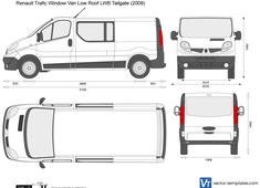 Renault Trafic Window Van Low Roof LWB Tailgate