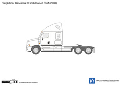 Freightliner Cascadia 60 inch Raised roof