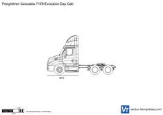 Freightliner Cascadia 7179 Evolution Day Cab