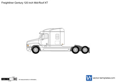 Freightliner Century 120 inch Mid-Roof XT
