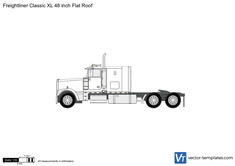 Freightliner Classic XL 48 inch Flat Roof