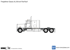 Freightliner Classic XL 58 inch Flat Roof