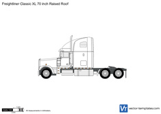 Freightliner Classic XL 70 inch Raised Roof