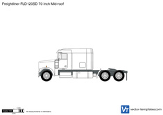 Freightliner FLD120SD 70 inch Mid-roof