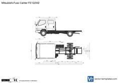Mitsubishi-Fuso Canter FE122W2