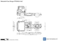 Mitsubishi-Fuso Shogun FP350G-2 4x2