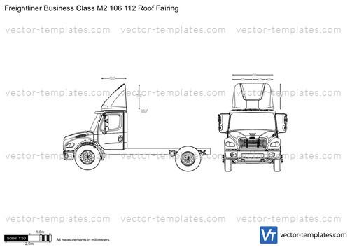 Roof Fairings For Semi Trucks : Templates trucks freightliner business